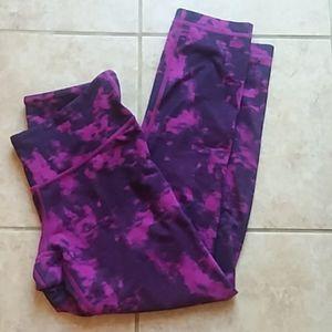 Lululemon Athletica tie-dye leggings